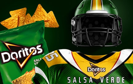 Doritos Football Jersey