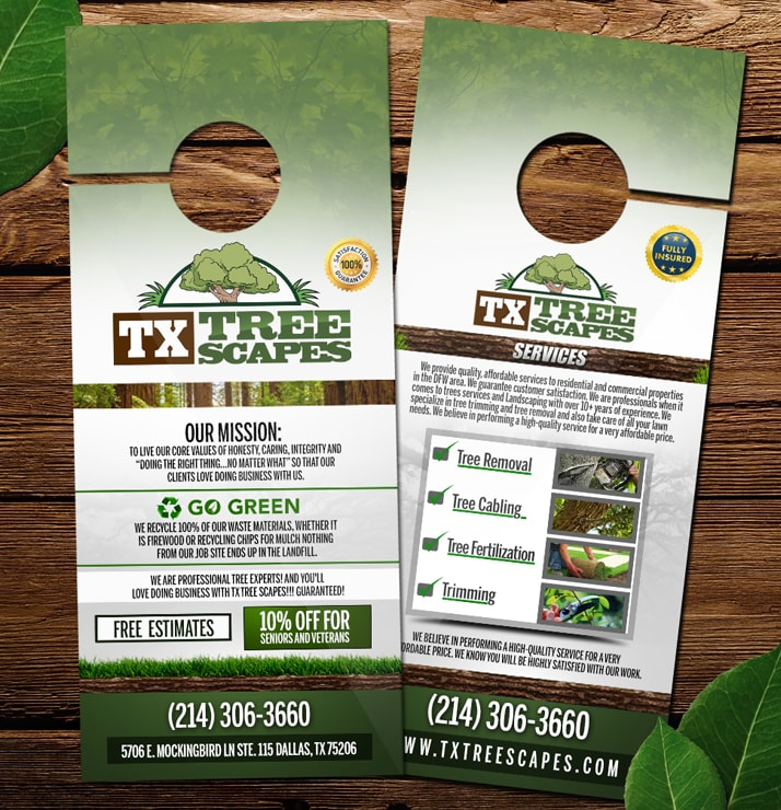 TX Tree Scapes Brochures