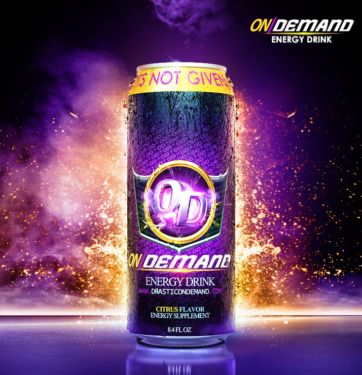 On Demand Energy Drink