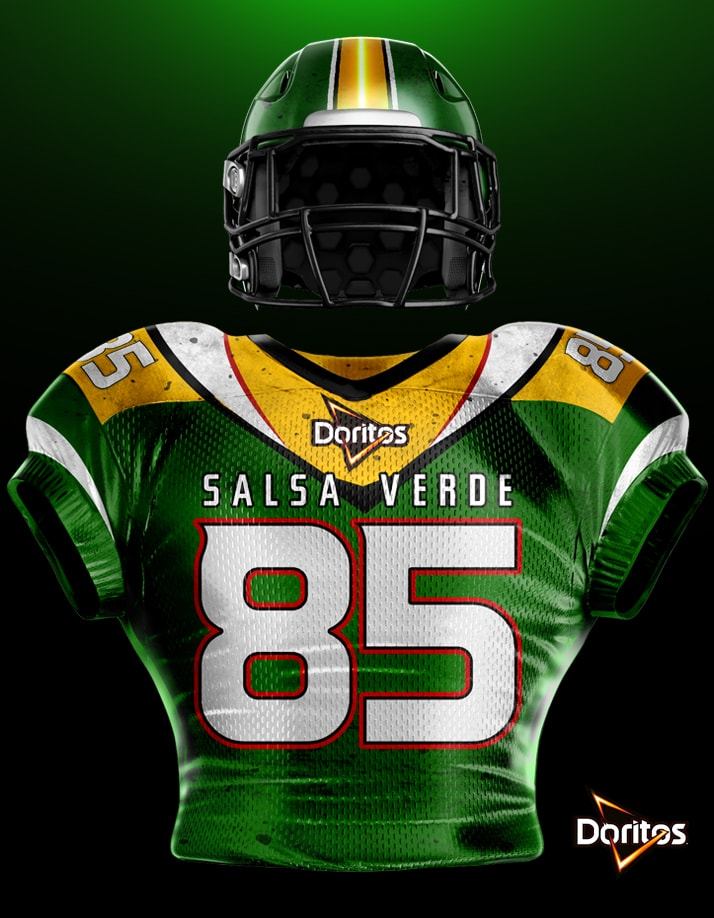 Doritos Football Jersey Design